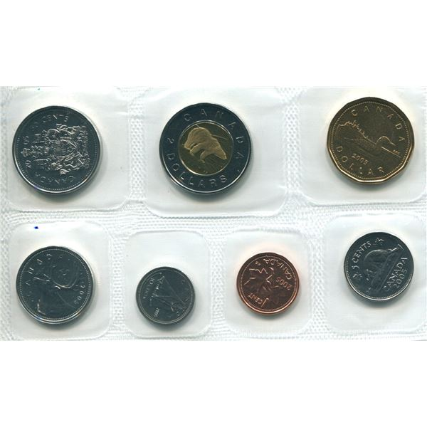 2005 Canadian Proof Set Coins