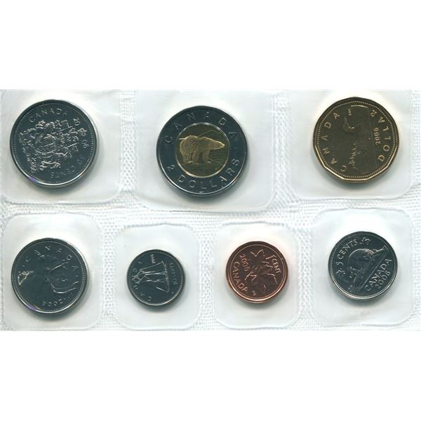2006 Canadian Proof Set Coins