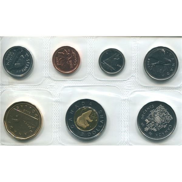 2008 Canadian Proof Set Coins