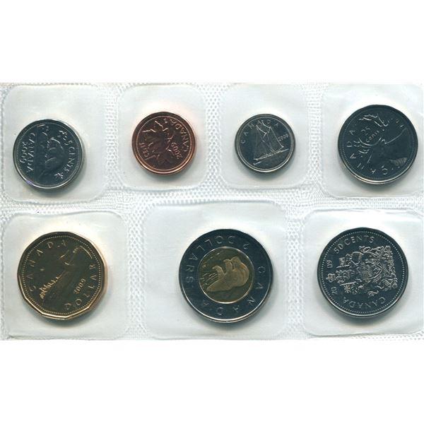 2009 RCM Logo Canadian Proof Set Coins
