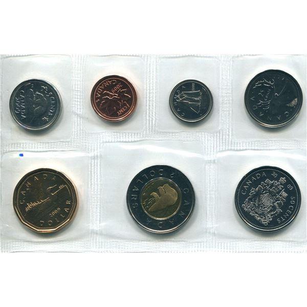 2009 (No RCM Logo) Canadian Proof Set Coins
