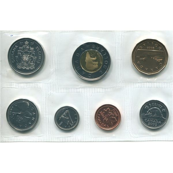 2009 World Trade Canadian Proof Set Coins
