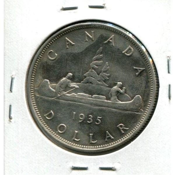 1935 Silver Canadian Dollar