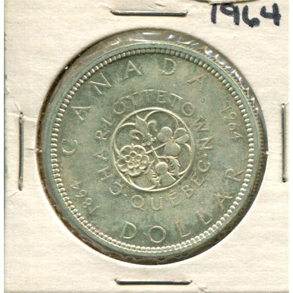 1964 Canadian Silver Dollar