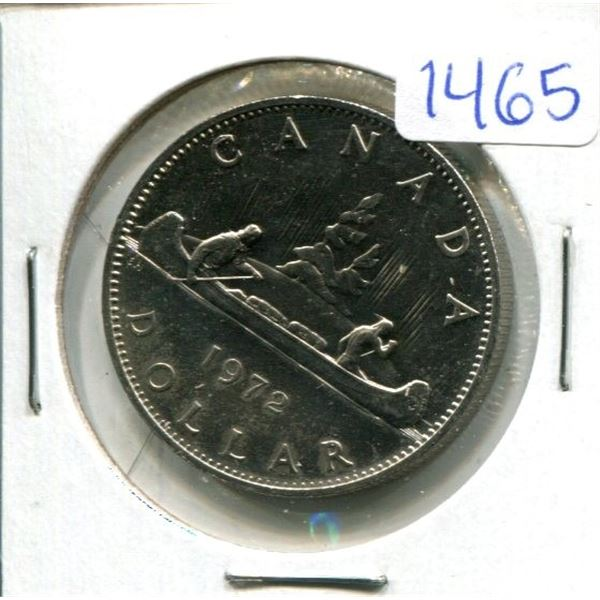 1972 Canadian Nickel dollar