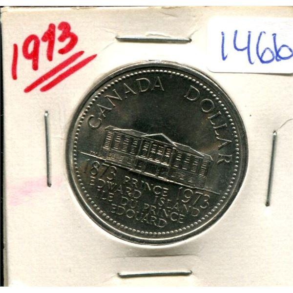 1973 Canadian Nickel Dollar