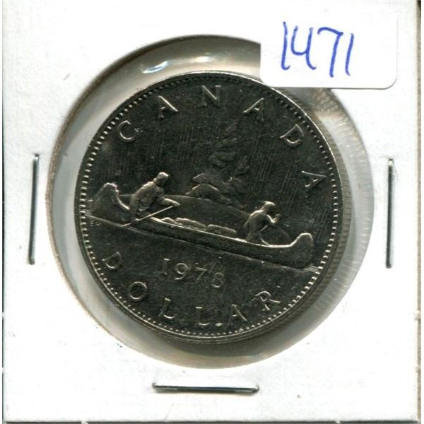 1978 Canadian Nickel Dollar