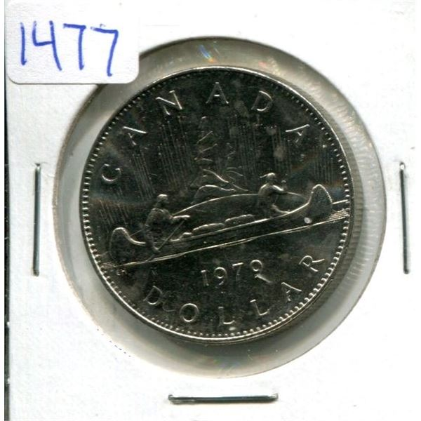 1979 Canadian Nickel Dollar