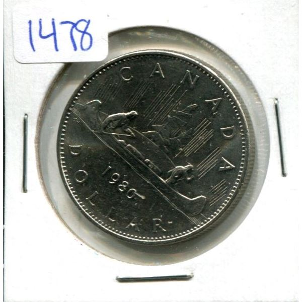1980 Canadian Nickel Dollar