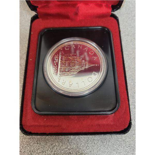 1976-S Canadian Silver Dollar