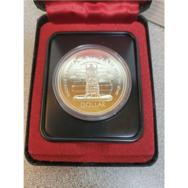 1977-S Canadian Silver Dollar
