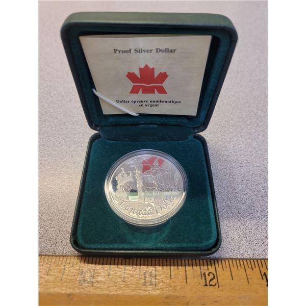 2002 Silver Dollar Canadian