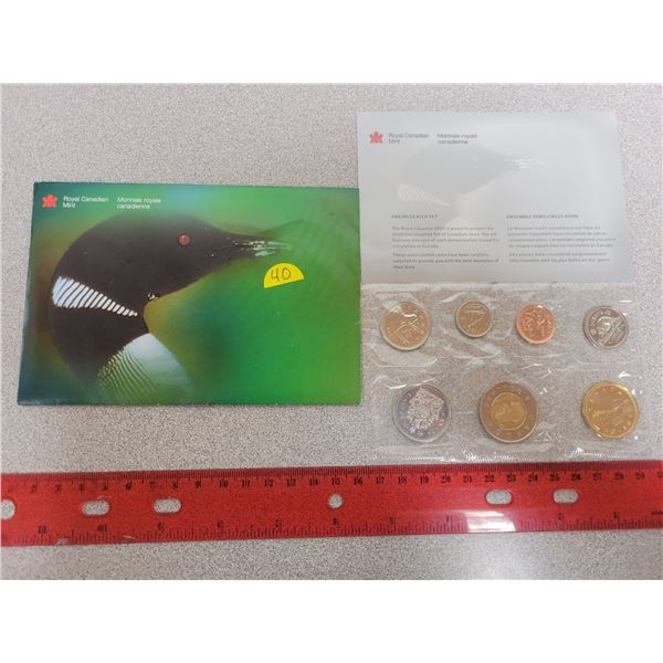 2000 Canadian uncirculated coin set RCM