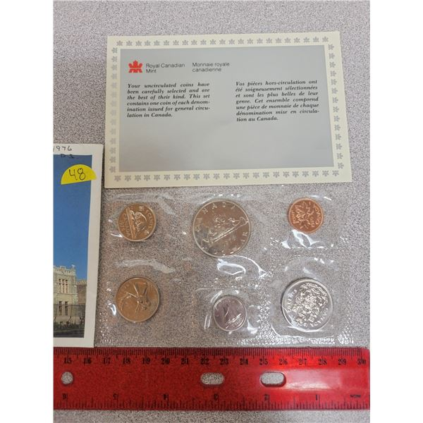 1976 Canadian unciculated coin set