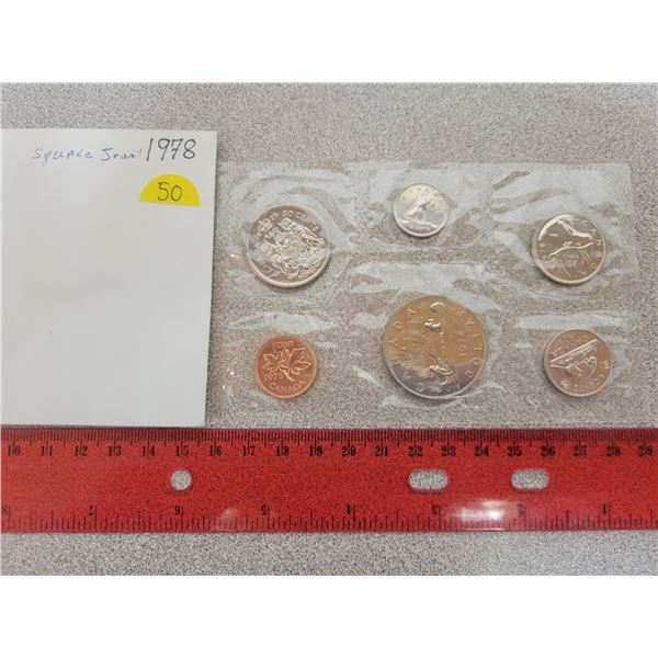 1978 Canadian unciculated coin set