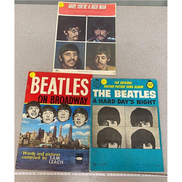 Lot Of (3) Beatle Books