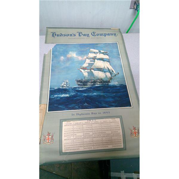 Hudson's Bay company inc May  2nd 1670 calender