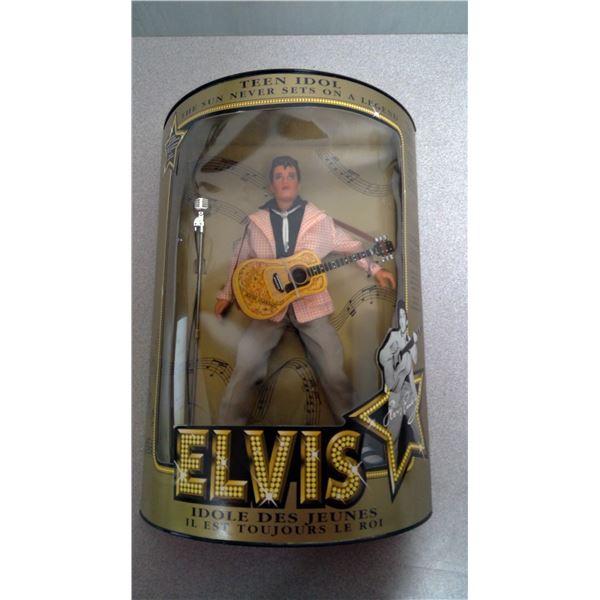 Elvis Presley Doll Teen idol the sun never sets on a legand
