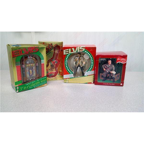 Elvis Presley x-mas decorrations collectibles