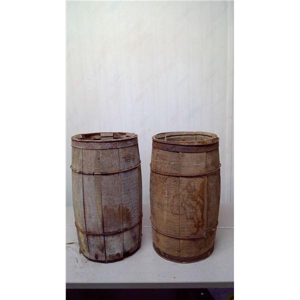 2 nail kegs (rough shape)
