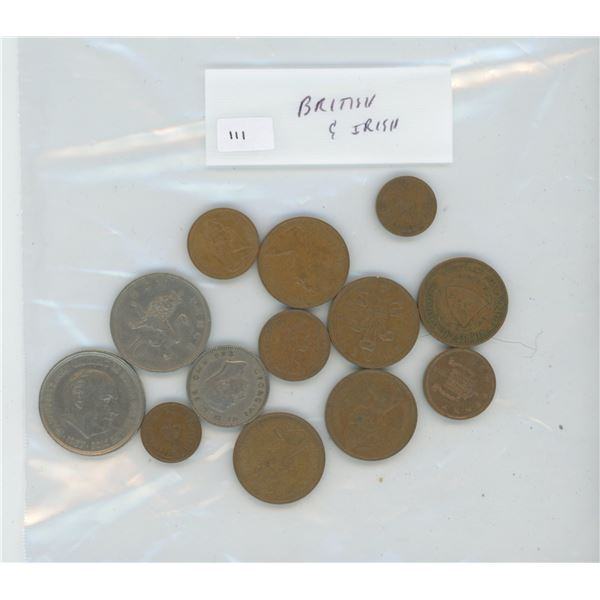 Collection of British and Irish coins