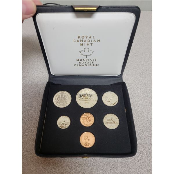 1978 double penny coin set - Canadian