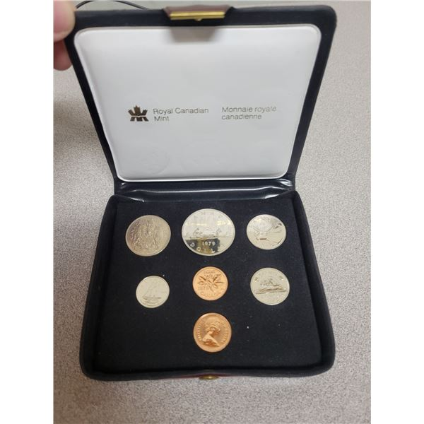 1979 double penny coin set - Canadian