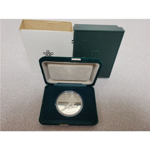 silver $20 Olympic coin
