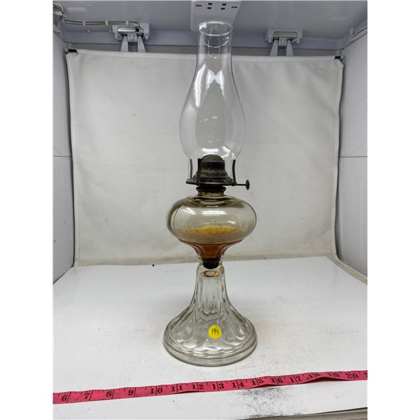Vintage Queen Mary Oil Lamp