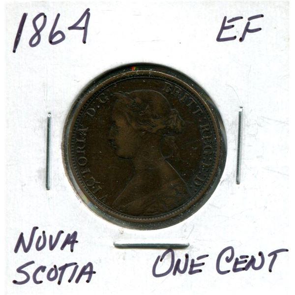 1864 Nova Scotia one cent