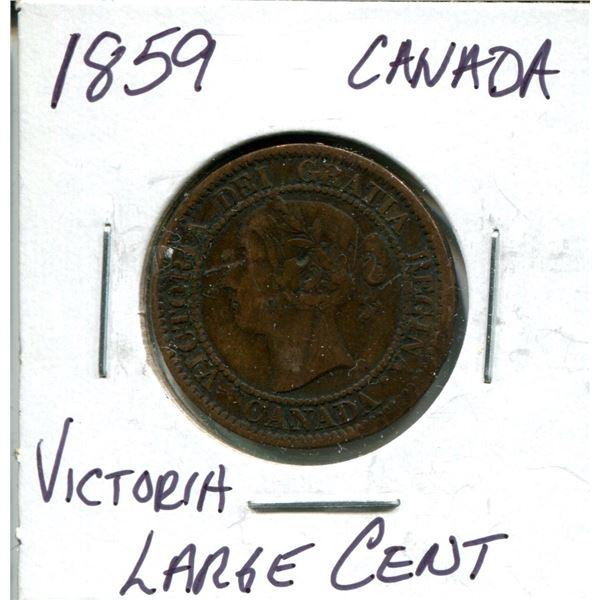 1859 Victoria large cent