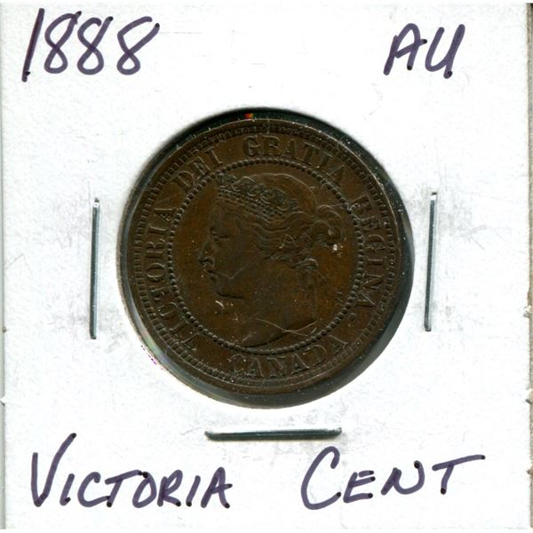 1888 Victoria large cent