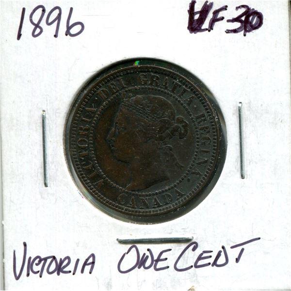 1896 Victoria one cent