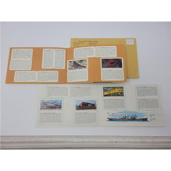 Brooke Bond Canada ltd. Red Rose - Blue Ribbon cards (Songbirds/Transportation)