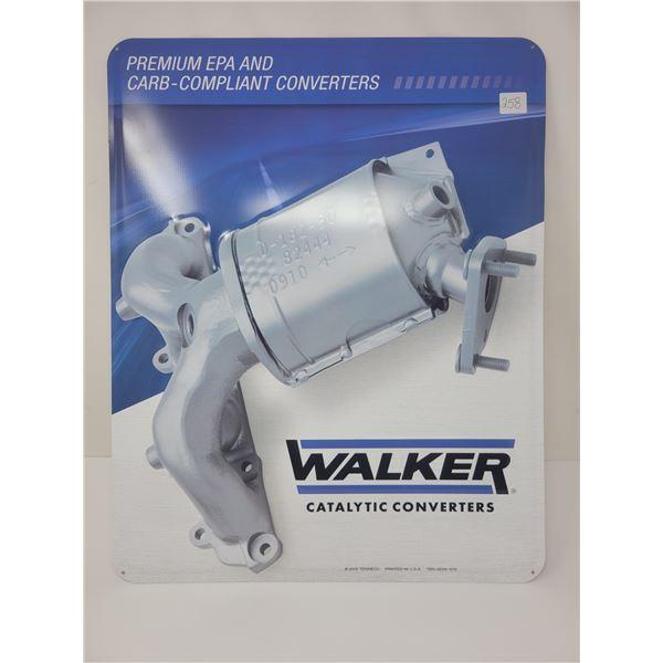 """Walker Catalytic converter sign 16"""" X 20"""""""