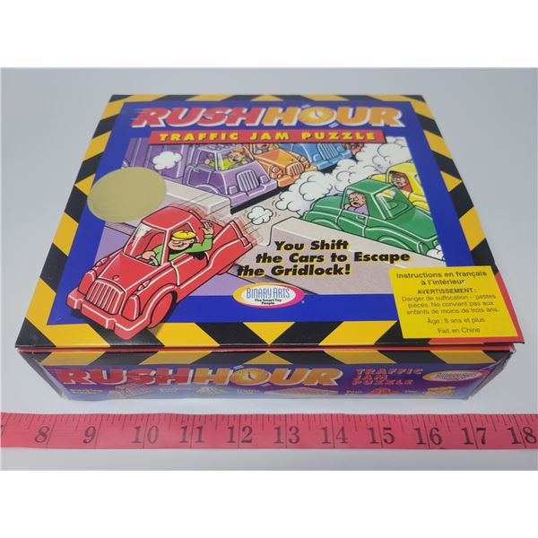 Rush Hour taffic jam puzzle - New, unused