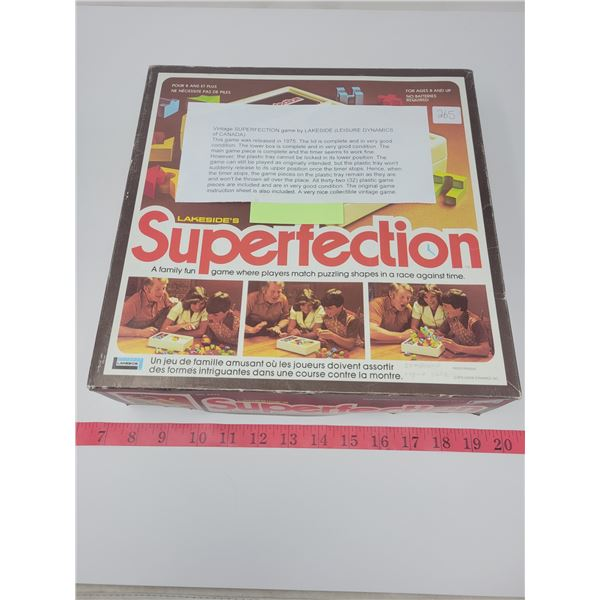 Vintage SUPERFECTION game by Lakeside (leisure dynamics)