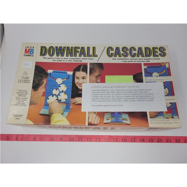 Downfall game by Milton Bradley Canada inc. from 1970's