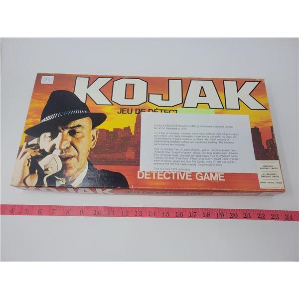 Kojac detective board game no. 4514 released 1975
