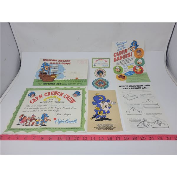 Welcome aboard HMGS Guppy! Cap'n Crunch Crew collectibles