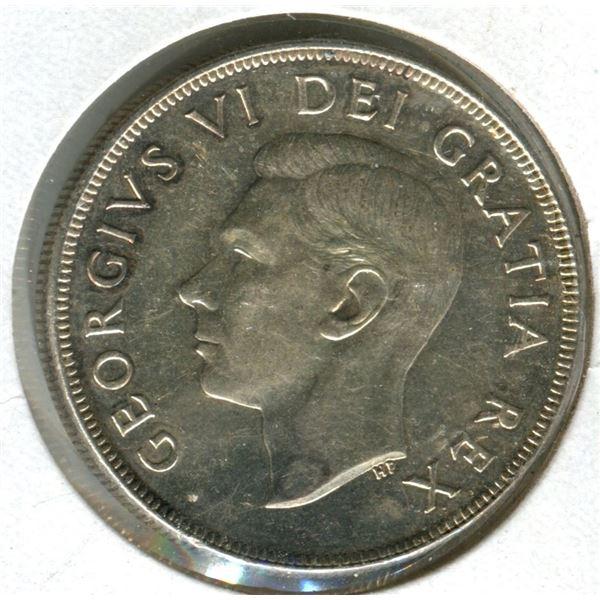 Canada 1952 dollar .800 silver M.S. 63.