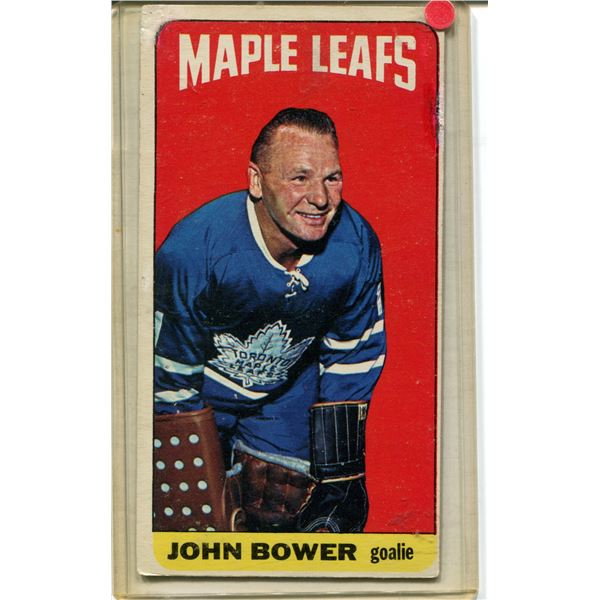 Johnny Bower 1964 topps #40 $$
