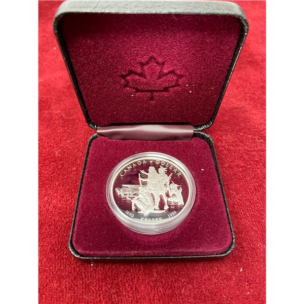 "1990 ""Kelsey"" Canadian Silver Dollar"