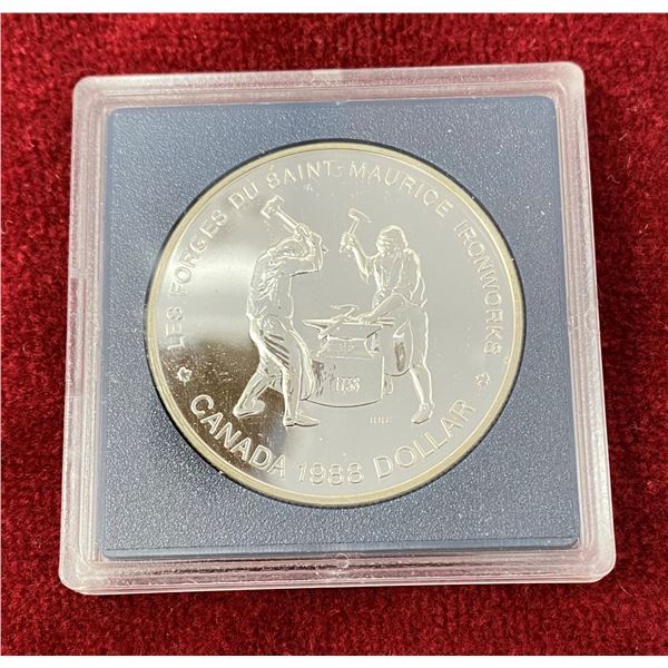 1988 Canadian Proof Silver Dollar