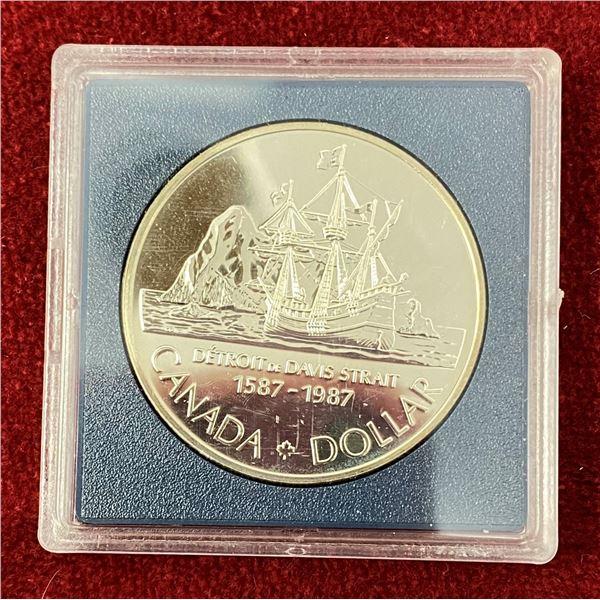 1987 Canadian Silver Dollar