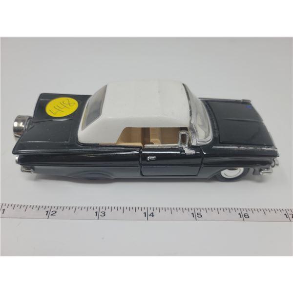 "1959 Chevrolet Impala scale model. 6"" long, doors & hood open. Pull back and car drives forward."