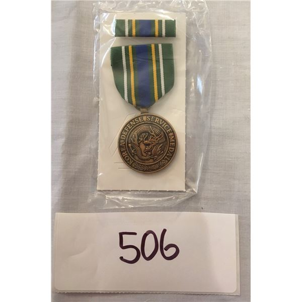 506 - US Military Korea Defense Service Medal set With Box