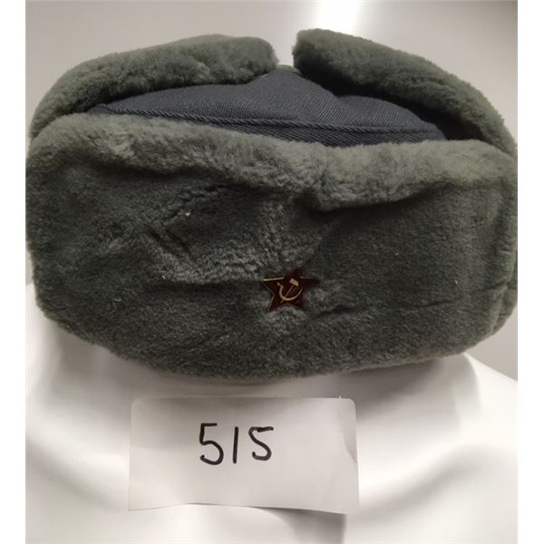 515- USSR Military Fur Hat