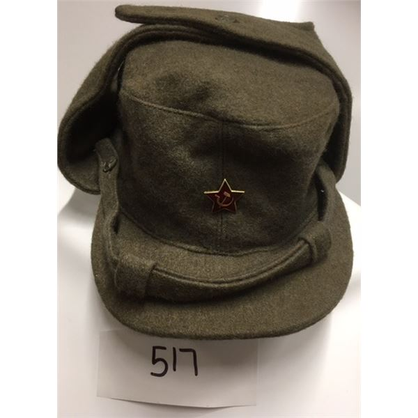 517- Wool Hat Of The USSR Ground Forces