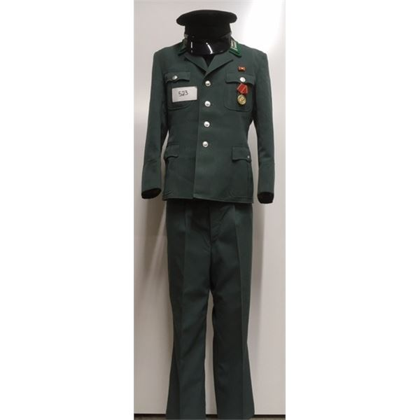 523- Cold War Era, East German Military Parade Jacket & Pants